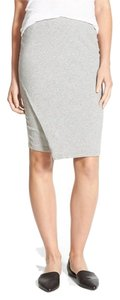 James Perse James Wrap Skirt Heather Gray