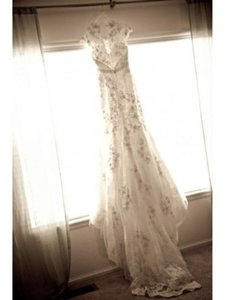 Allure Bridals Ruching Wedding Dress