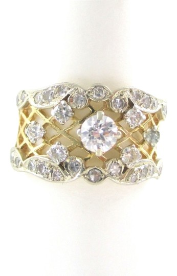 Preload https://item2.tradesy.com/images/gold-wedding-band-22-diamond-14kt-solid-karat-yellow-engagement-antique-ring-966181-0-0.jpg?width=440&height=440