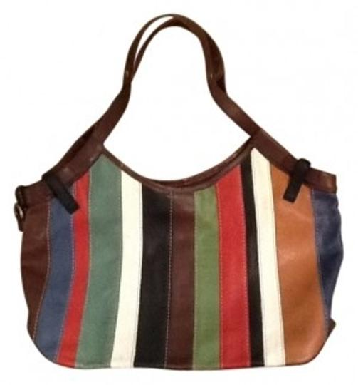 Preload https://item3.tradesy.com/images/lucky-brand-multi-stripe-leather-shoulder-bag-9662-0-0.jpg?width=440&height=440