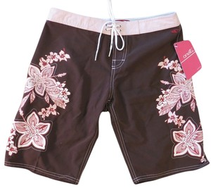 O'Neill O'Neill Brown Hibiscus Board Shorts