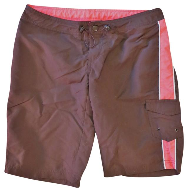 Preload https://img-static.tradesy.com/item/966256/aeropostale-brown-and-pink-board-shorts-activewear-size-4-s-27-0-0-650-650.jpg