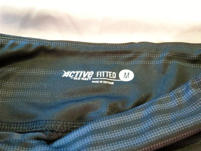 Old Navy Active Printed-Compression Capris