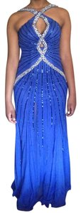 CECILY BROWN Studded Prom Dress