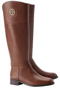 Tory Burch Junction Junction Riding Brown Boots