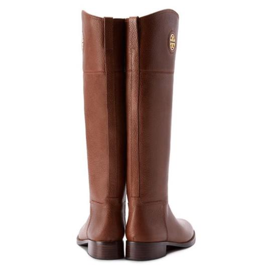 Tory Burch Junction Junction Riding Brown Boots Image 1
