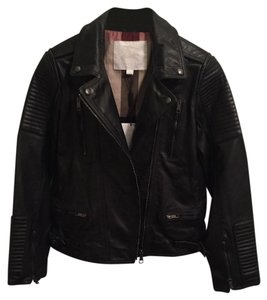 Burberry Mossfield Leather Motorcycle Jacket