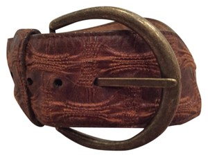 Other Brown leather belt
