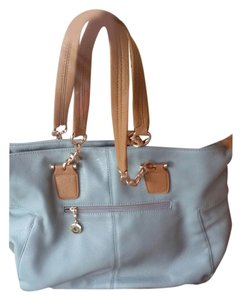 DailyLook Satchel in Baby Blue