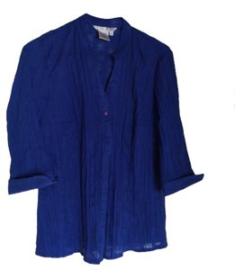 Fred David Top Cobalt Blue