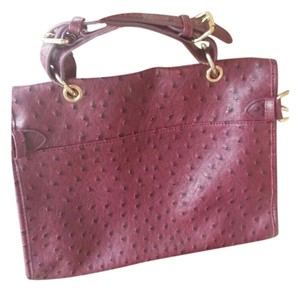 DailyLook Satchel in Burgundy