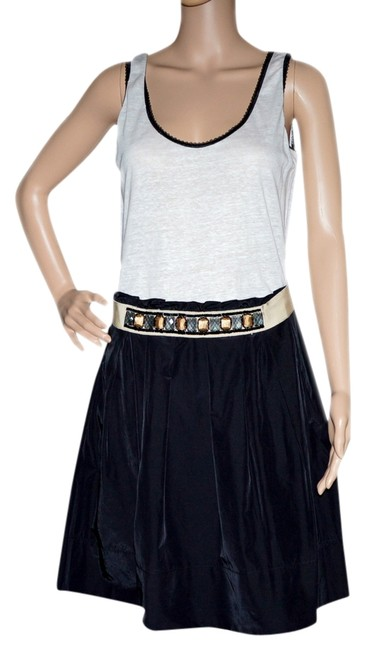 Preload https://item1.tradesy.com/images/zenobia-white-black-gold-above-knee-workoffice-dress-size-8-m-966755-0-0.jpg?width=400&height=650