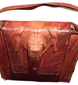 Satchel in Caramel Brown