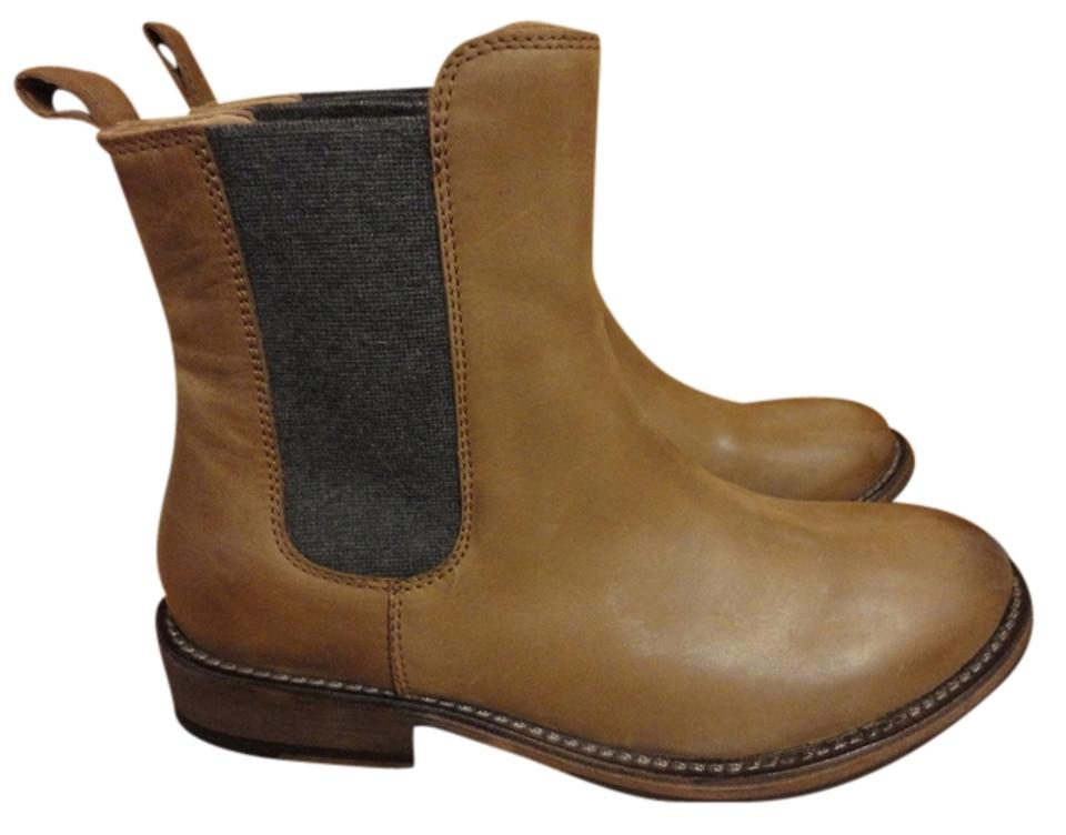 Brunello Tan Cucinelli Tan Brunello Chelsey Cashmere Fall Boots/Booties 1d19d4