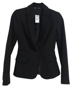 Express Pitch Black Blazer
