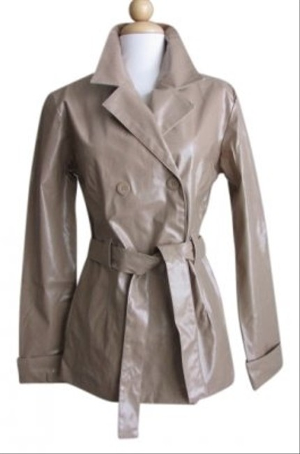 Item - Beige Pea Jacket Coat Size 2 (XS)