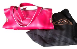Tod's New Exquisite Color Satchel in Candy Pink