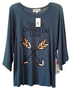 Wildfox T Shirt Blue