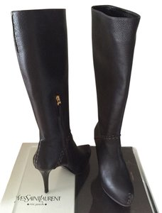 Fendi Leather Boot Brown Boots