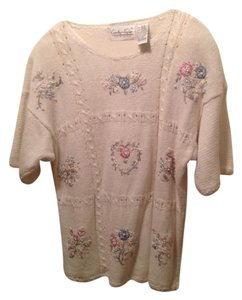 Carolyn Taylor Top Off White