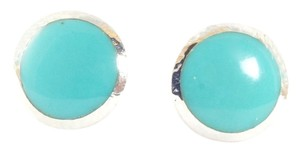 Ippolita Ippolita Sterling Silver Turquoise Post Earrings Polished Rock Candy .925 Studs