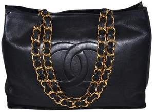 Chanel Paris Large Tote in Black