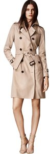 Burberry Kensington Trench Coat Long Stone US 2 Trench Coat