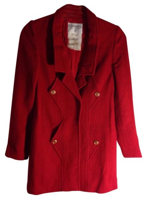 Item - Red Vintage 94a Collection Skirt Suit Size 6 (S)