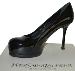 Saint Laurent Ysl Ysl Tribute Black Pumps
