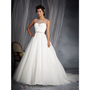 Alfred Angelo Disney Line Wedding Dress