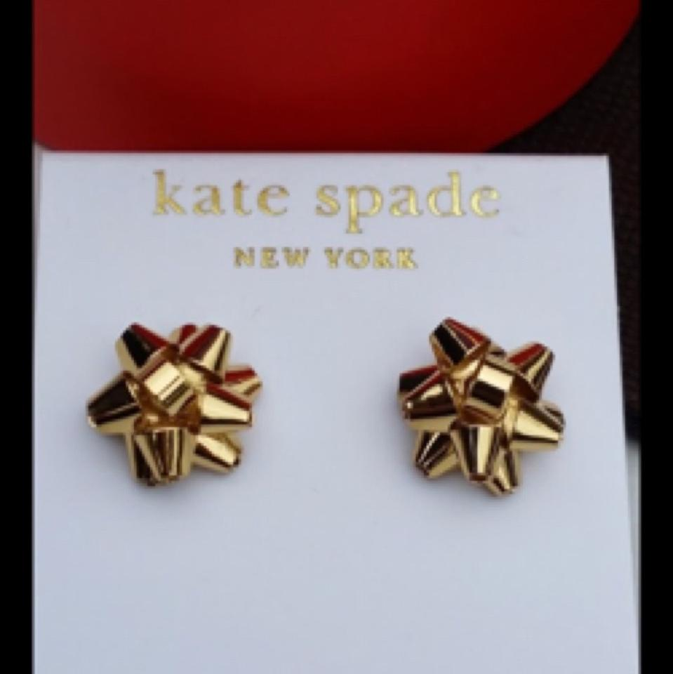 cce26c444 Amazing Kate Spade Christmas Bow Earrings Sketch - Christmas ...