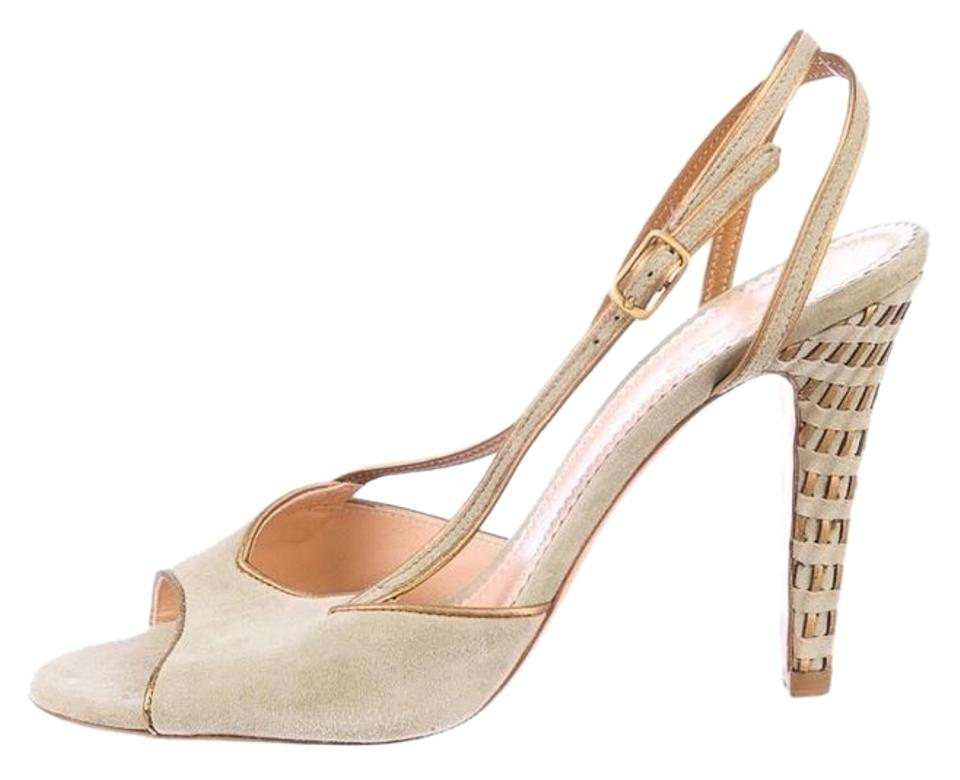 Chloé Sage Suede Woven Strappy Sandals Sandals Strappy ca1648