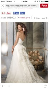 Jim Hjelm Jh8002 Wedding Dress