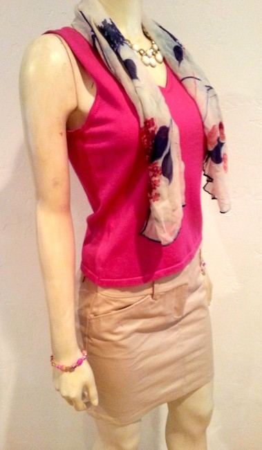 Ann Taylor Size Small P600 Top DARK PINK