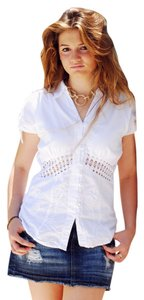 Lirome Embroidered Top White