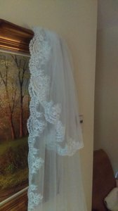 Cathedral Veil 2 Tiers Ivory