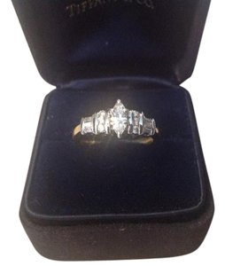 14 K Marquise Diamond Ring