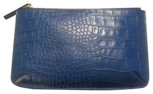 Talbots Blue Clutch