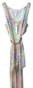 Floral Print Maxi Dress by BCBGeneration Floral High-low Mullet With Belt