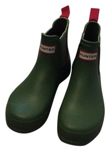 Hunter Pea Green Boots