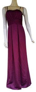 Max and Cleo Satin Strapless Evening Dress