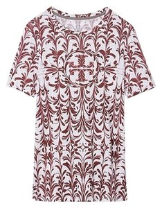 Tory Burch T Shirt Red Agate Symphony