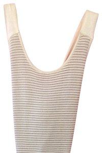 Maryann Restivo Top Off White&Gold