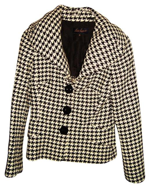 Item - Black & White Houndstooth Jacket Size 4 (S)