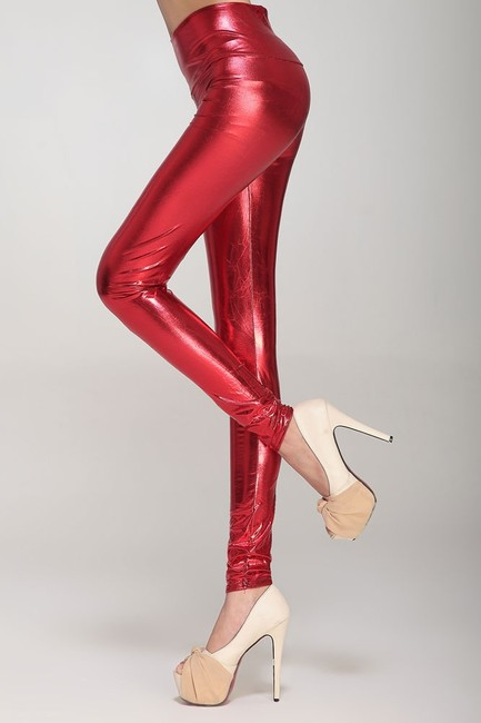 Other Red Leggings