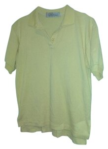 Karen Scott Polo T Shirt Yellow