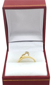 Other Fancy Heart Diamonds 14k Yellow Gold Ring, Size - 6.5
