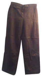 Dress barn petites Relaxed Pants Brown