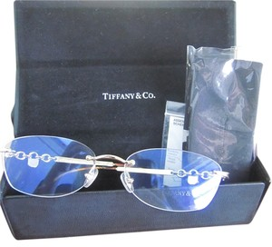 Tiffany & Co. Tiffany & CO Padlock Rimless Glasses New