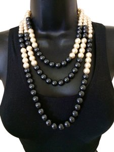 Kenneth Jay Lane Kenneth Jay Lane Strand Pearl Necklace Set